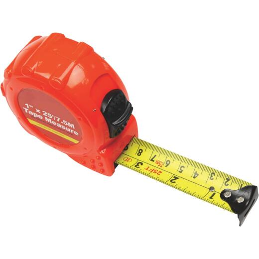 Do it 7.5m/25 Ft. Metric/SAE Power Tape Measure