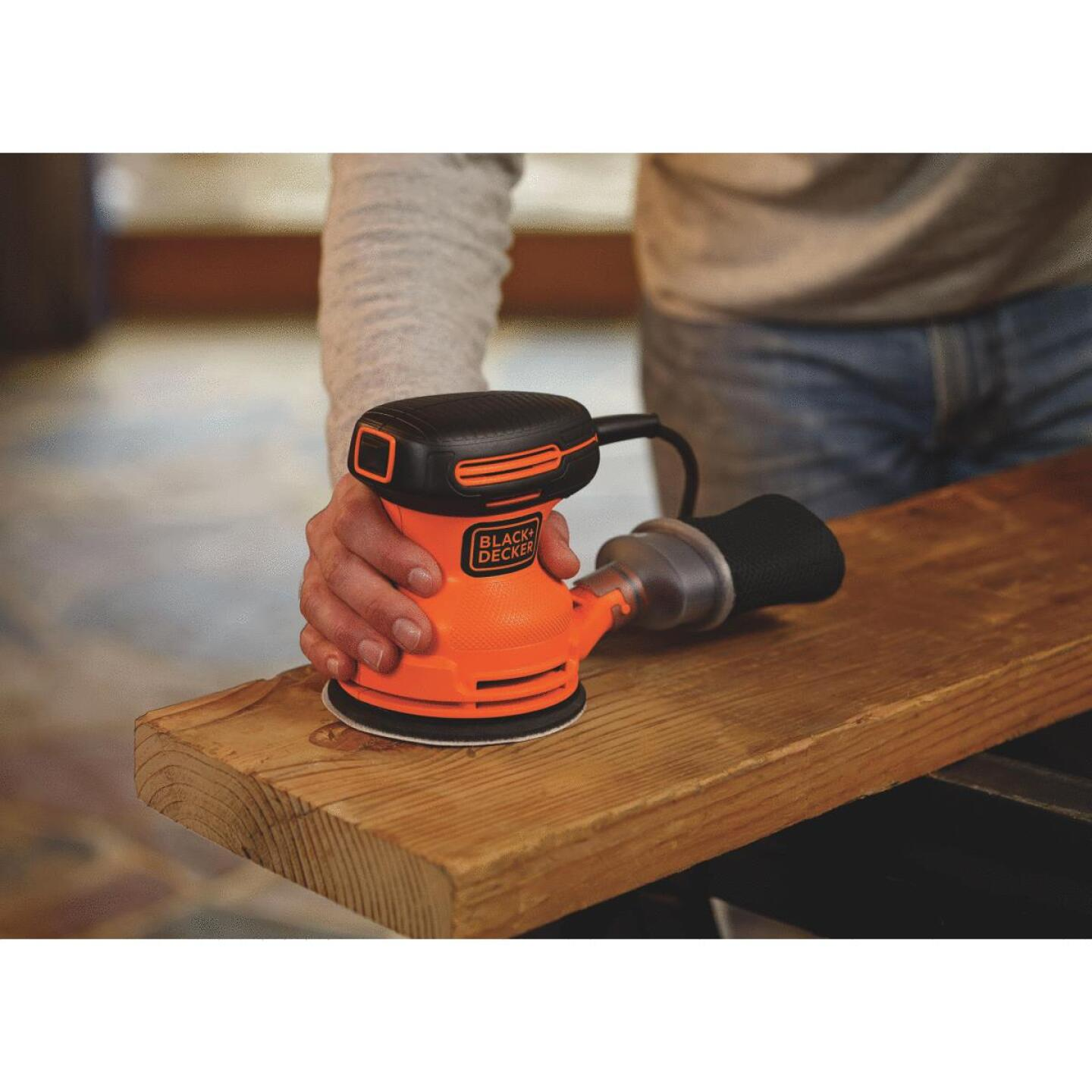 Black & Decker 5 In. 2.0A Finish Sander Image 6