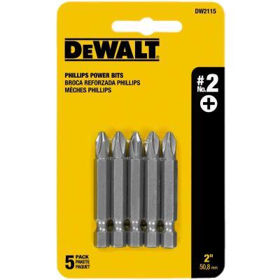DeWalt Phillips #2 2 In. Power Screwdriver Bit