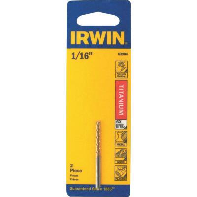 Irwin 1/16 In. Titanium Drill Bit