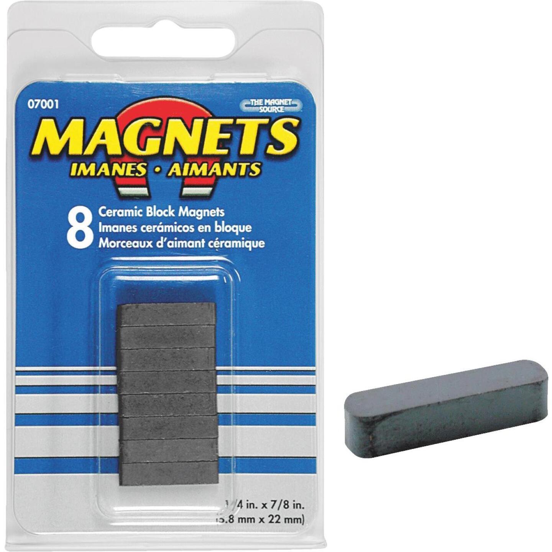 Master Magnetics 7/8 in. x 1/4 in. Magnetic Block  Image 1