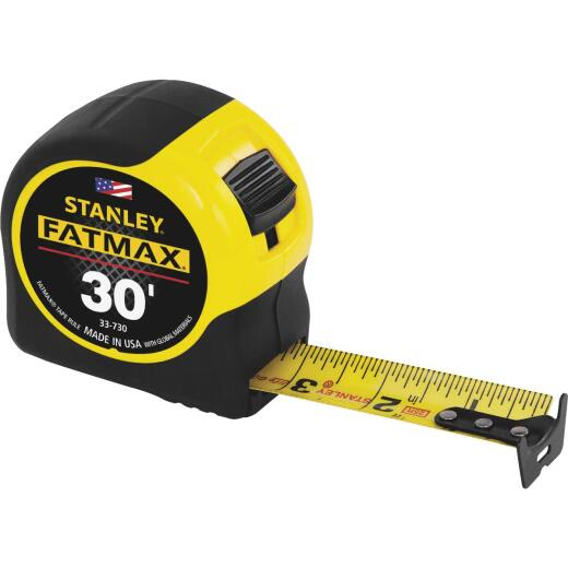Stanley FatMax 30 Ft. Tape Measure with 11 Ft. Standout
