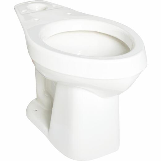 Mansfield Alto White Elongated 16-1/4 In. H HET ADA Toilet Bowl