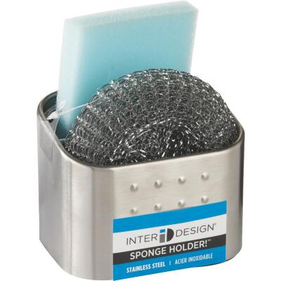 InterDesign Forma Dual Scrub Sponge Holder