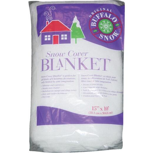 Buffalo Snow 15 In. W. x 10 Ft. L. x 1 In. Thick Snow Blanket